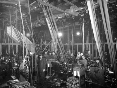 Factory Workers in St Petrsburg, c.1916