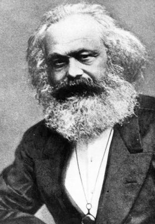 Karl Marx by Russian Photographer