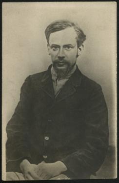 Portrait of Fyodor Mikhaylovich Dostoievsky by Russian Photographer