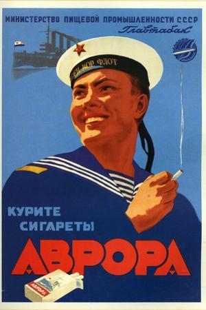 Russian Sailors of the Fleet Prefer Aroma Cigarettes