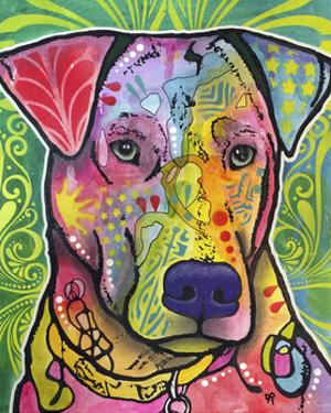 In the Details, Dogs, Pets, Animals, Regal, Paying attention, Pop Art, Stencils by Russo Dean