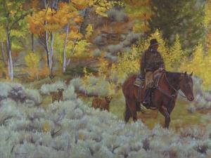Modern Day Cowboy by Rusty Frentner