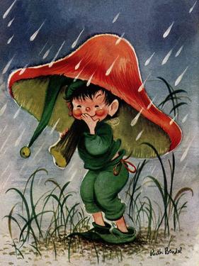 Mushroom Shelter - Jack & Jill by Ruth Bendel