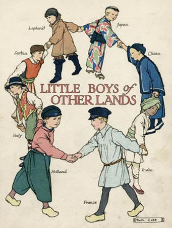Little Boys of Other Lands in their Native Costumes