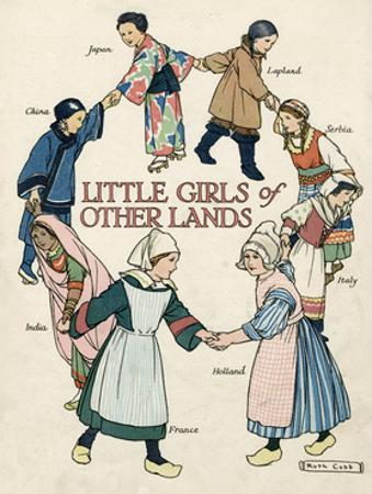 Little Girls of Other Lands in their Native Costumes
