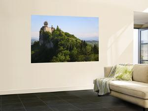 Rocca Cesta Castle Built on Highest Peak of Titan Mountain of Medieval San Marino by Ruth Eastham & Max Paoli