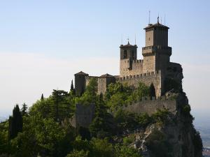 Rocca Guaita Castle known as First and Oldest Tower in Centre of Medieval San Marino by Ruth Eastham & Max Paoli