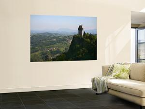 Rocca Montale Castle Built on Titan Mountain of Medieval San Marino by Ruth Eastham & Max Paoli