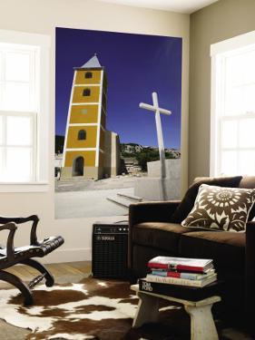 St Ivana Church (Sv Ivana) with Cross North-East of Baska by Ruth Eastham & Max Paoli