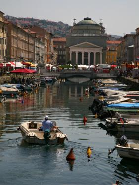 Trieste Grand Canal (Canal Grande) Towards Saint Anthony's Square by Ruth Eastham & Max Paoli
