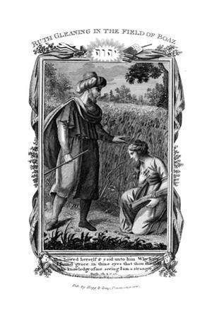 Ruth Gleaning in the Field of Boaz, C1804