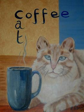 Coffee Cat by Ruth Palmer