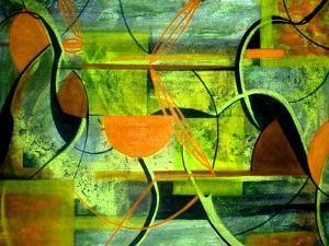 Line Dancing II by Ruth Palmer