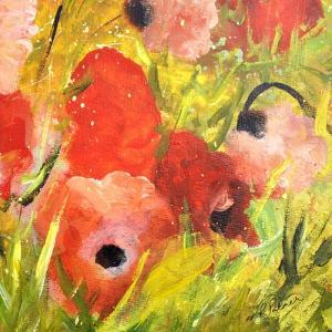 Poppy Patch II by Ruth Palmer