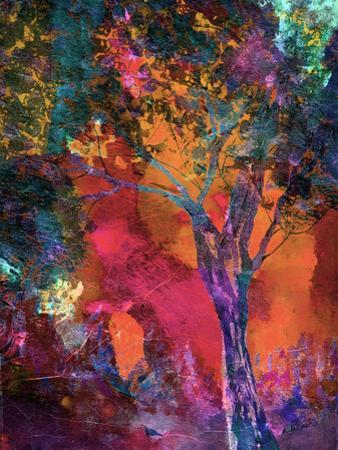 Vibrant Crackle Tree by Ruth Palmer
