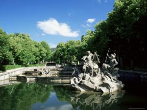 Gardens of La Granja De San Ildefonso, Near Segovia, Castilla Y Leon, Spain by Ruth Tomlinson