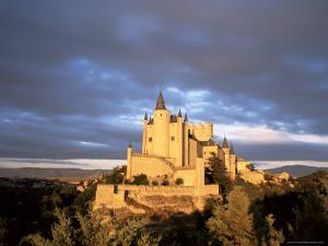 The Alcazar at Sunset, Segovia, Castilla Y Leon, Spain by Ruth Tomlinson