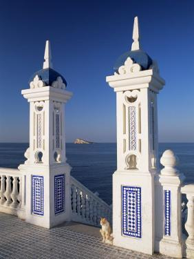 View to Benidorm Island from the Balcon Del Mediterraneo, Costa Blanca, Valencia, Spain by Ruth Tomlinson