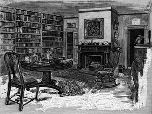 Rw Emerson, Home, Library