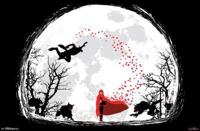 RWBY- Ruby Rose Full Moon Walk