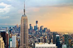 Empire State Building and One World Trade Center by Ryan D. Budhu
