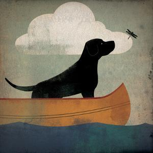 Black Dog Canoe Ride by Ryan Fowler