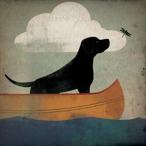 Black Dog Canoe Ride by Ryan Fowler