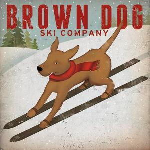 Brown Dog Ski Co by Ryan Fowler