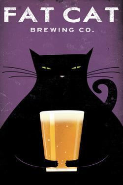 Cat Brewing no Words by Ryan Fowler