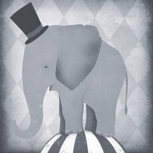 Circus Elephant Gray by Ryan Fowler