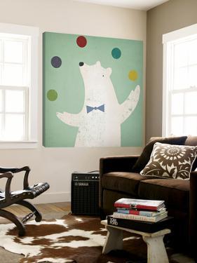 Circus Polar Bear by Ryan Fowler