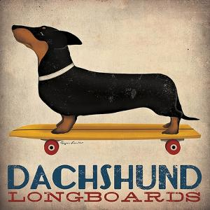 Dachshund Longboards by Ryan Fowler
