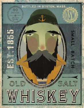 Fisherman V Old Salt Whiskey by Ryan Fowler