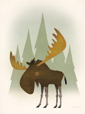 Forest Moose by Ryan Fowler