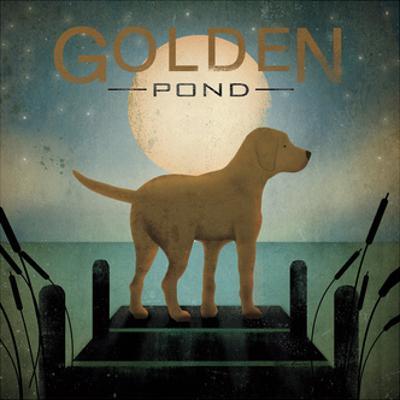 Moonrise Yellow Dog by Ryan Fowler