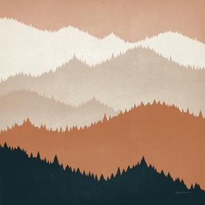 Mountain View Terra Cotta by Ryan Fowler