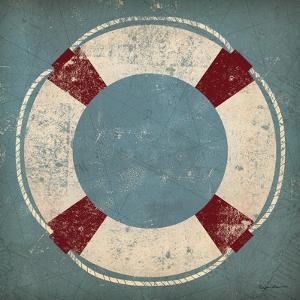 Nautical Buoy Blue by Ryan Fowler