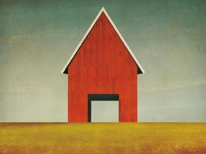 Red Barn Summer by Ryan Fowler