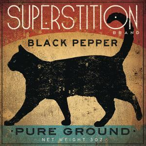 Superstition Black Pepper Cat by Ryan Fowler