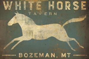 White Horse Running by Ryan Fowler