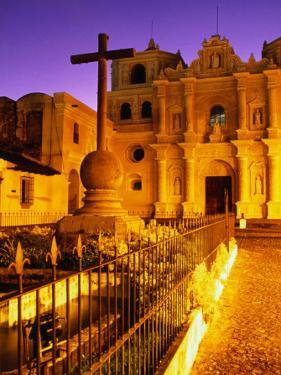 Iglesia De La Merced at Sunset, Antigua Guatemala, Guatemala by Ryan Fox