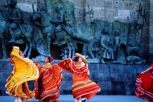 Performers in Front of Palacio De Justicia. by Ryan Fox