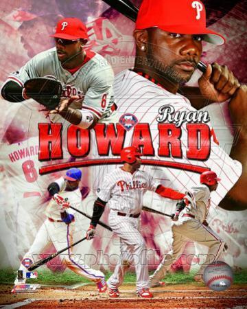 Ryan Howard 2011 Portrait Plus