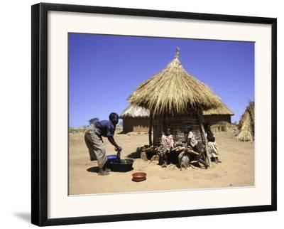 People by Hut, South Africa by Ryan Ross
