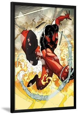 Scarlet Spider No.2: Scarlet Spider in Web and Flames by Ryan Stegman