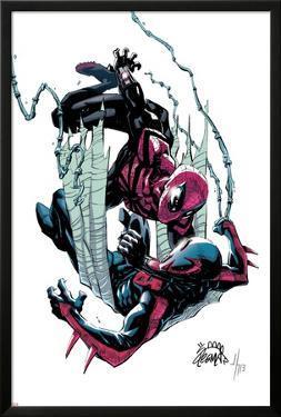 Superior Spider-Man #18 Cover: Spider-Man, Spider-Man 2099 by Ryan Stegman