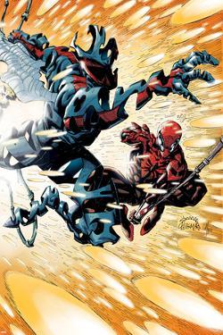 Superior Spider-Man #19 Cover: Spider-Man, Spider-Man 2099 by Ryan Stegman
