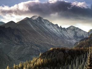 Longs Peak in Rocky Mountain National Park Near Estes Park, Colorado. by Ryan Wright