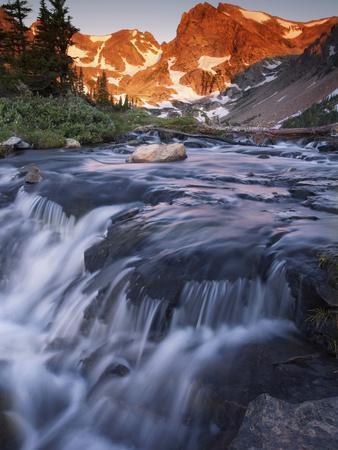 The Indian Peaks Wilderness Area Near Nederland, Colorado