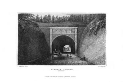 Ryegate Tunnel, Surrey, 1829 by J Rogers